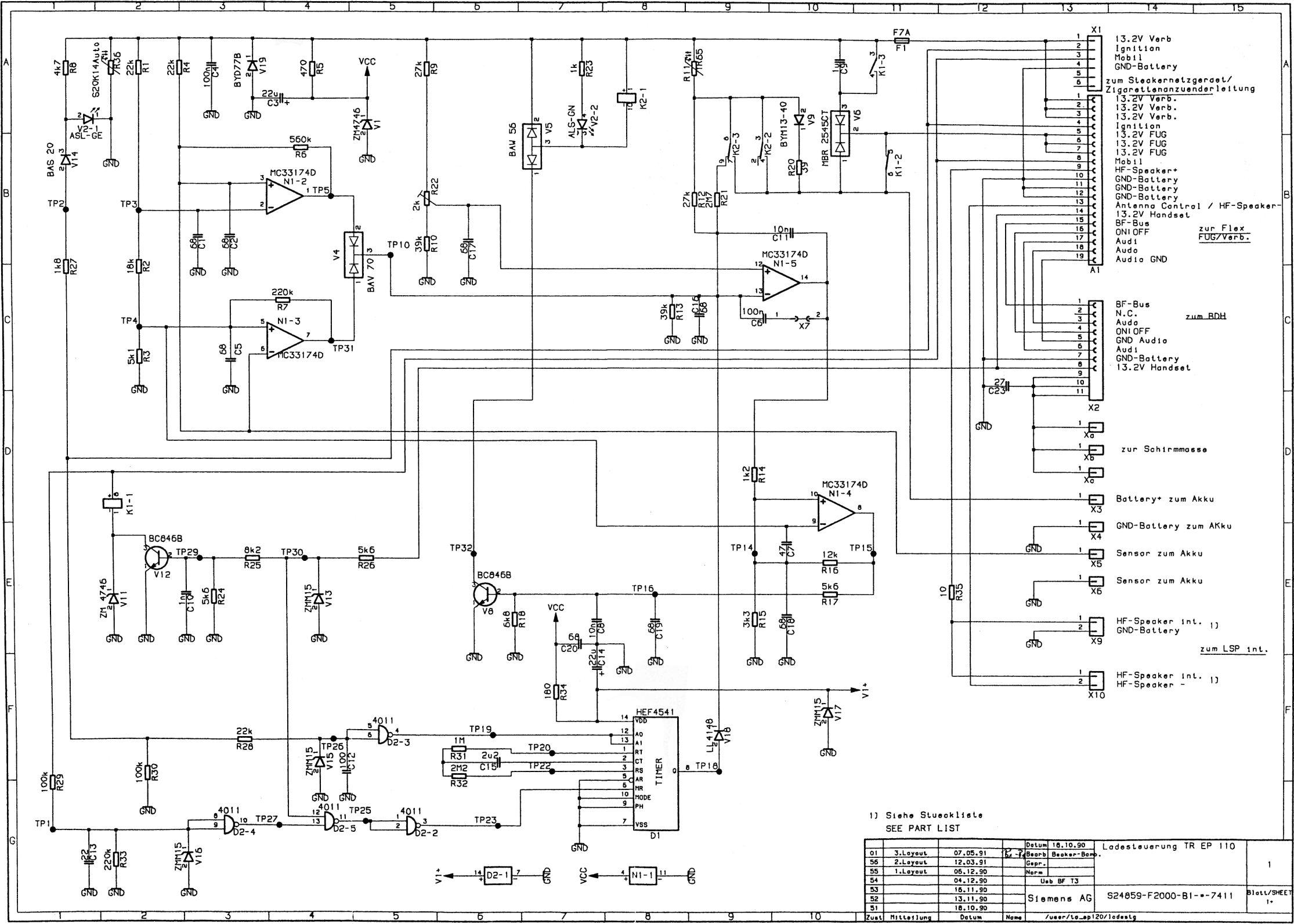 Tolle Audi Tt Schaltplan Ideen - Schaltplan Serie Circuit Collection ...